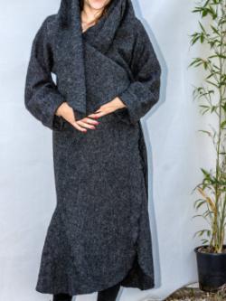 Manteau Original en laine bouillie