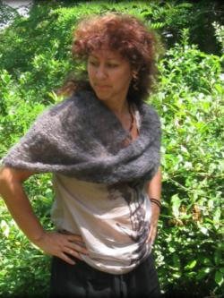 Couvre-épaules Mohair